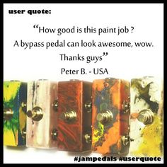 #userquote #jampedals User Quotes, Thankful, Handmade, Hand Made, Craft