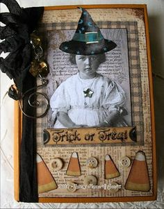 altered book cover by Paper Whimsy paperwhimsy  By ~*<3Nancy Maxwell James<3*~