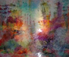 """by Linda Mayne, these photo's do not do her art justice. They are incredible.   Coral Reef  60"""" x 72"""""""
