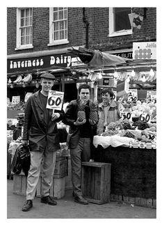 Madness in Inverness Street, Camden 1980.
