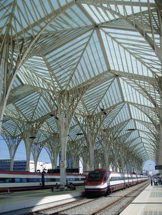 Estacion de Oriente - Santiago Calatrava