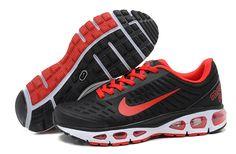buy online ddf24 1e68b Nike Air Max Tailwind Femmes Noir Rouge €64.53