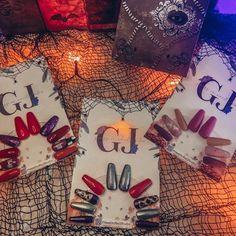 G&J Press on nail studio (@pressonnailstudio) • Instagram photos and videos Halloween Press On Nails, Nail Studio, Gift Wrapping, Photo And Video, Videos, Photos, Gifts, Instagram, Gift Wrapping Paper