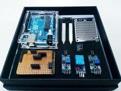 Proyecto en el que nos explican cómo hacer y construir una estación meteorológica con nuestro arduino, totalmente funcional