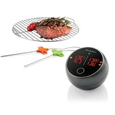 Bluetooth Grill Thermometer for Brookstone by Elliot Cohen