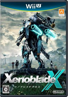 Xenoblade Chronicles X official Wii U boxart (Japan)