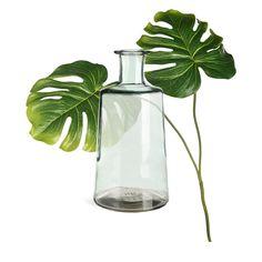 Dekoset Vase mit Monstera, 2-teilig - DEPOT Glass Vase, Decor, Explore, Balcony, Decoration, Decorating, Deco