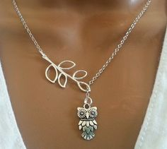 Adorable Bird or Owl Necklace, $10.79. Remember owls from the 70's?  There're BACK!