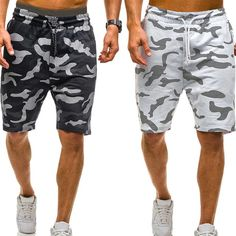 Mens Tactical Pants, Fashion Pants, Mens Fashion, Camouflage Shorts, Athleisure Outfits, Summer Shorts, Mens Fitness, Fitness Apparel, Casual Shorts