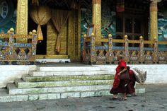 and mattress, in Punakha dzong