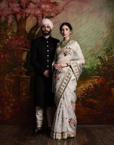 fullonwedding-bridal designer-Sabyasachi's new collection-couple