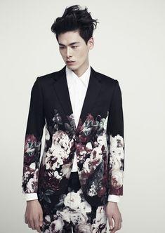"vechernyaya:  "" Kim Won by Maeng Min Hwa for Kim Seo Ryong Homme Spring 2013 Lookbook  """