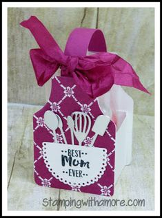Stampingwithamore:+APRON+OF+LOVE+MOTHER'S+AND+FATHER'S+DAY+TREAT+HOLD...