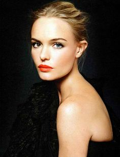 an orange lip  Kate bosworth couldnt look any more stunning!#Repin By:Pinterest++ for iPad#
