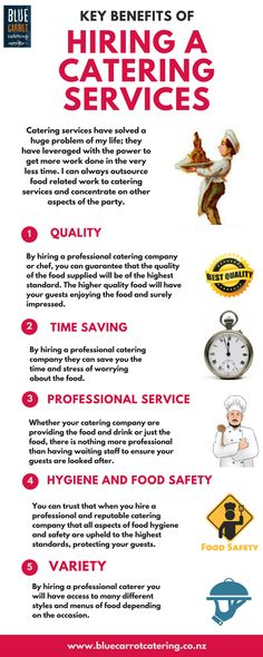 Key benefits of hiring professional catering services - Wellington, NZ