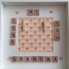We Love You Granny Nanny Nan Mummy Mum Photo Box Frame Mothers Day Gift   eBay
