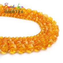 Natural Yellow Crystal Citrines Quartz Round Loose Beads for Jewelry Making DIY Bracelet Necklace Pick Size 4/6/8/10mm 15'' -in Beads from Jewelry & Accessories on Aliexpress.com | Alibaba Group Cheap Beads, Jewelry Making Beads, Bracelets, Diy Bracelet, Jewelry Accessories, Quartz, Crystals, Collar, Alibaba Group