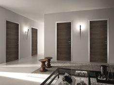 from Garofoli catalogo bisystem Brown Interior Doors, Craftsman Interior Doors, Interior Doors For Sale, Brown Doors, Custom Wood Doors, Wooden Front Doors, Glass Panel Door, Glass Front Door, Glass Doors