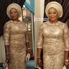How The Glitz And Glamorous Are Slaying Trendy Aso Ebi Styles
