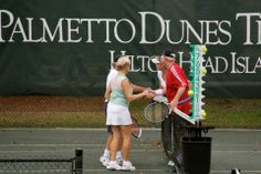 Tournaments at the Palmetto Dunes Tennis Center, Hilton Head Island