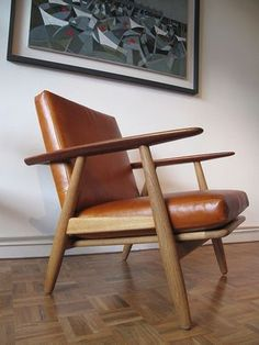 Hans J. Wegner Cigar Chair If only it were in white or black with mahogany
