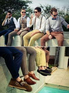 Clothing for boys. Old and perfect Style.