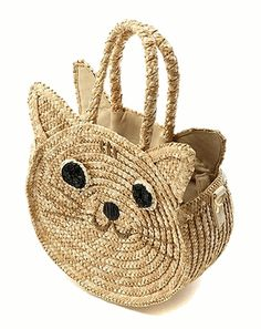 Wicker #Cat #Bag admired by our rattan furniture... | Wicker Blog…