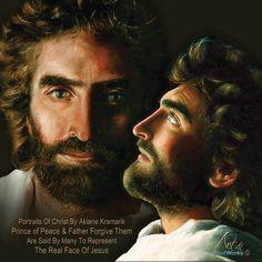 Jesus, Prince of Peace and Father Forgive Them both by Akiane Kramarik