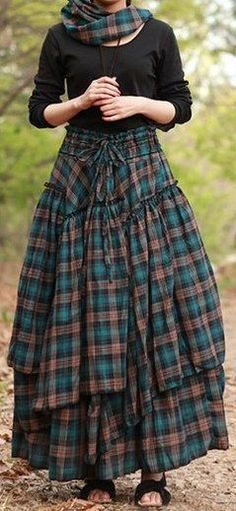 Ideas Skirt Dress Long Outfit For 2019 Skirt Outfits, Dress Skirt, Cool Outfits, Moda Steampunk, Mode Hippie, Mode Editorials, Boho Fashion, Womens Fashion, Mori Girl