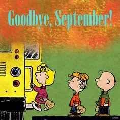 Goodbye, September!