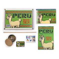 Missions in a Box: Peru Learning Activities, Families, Thailand, Explore, Baseball Cards, Games, Children, Recipes, Crafts