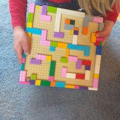 Abwechslung beim Legospielen, mit Geschicklichkeitsspiel Red Dots, Game Ideas, Creative