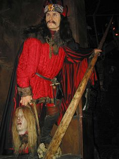 Vlad III, Prince of Wallachia (1431–1476) more commonly known as Vlad the Impaler (Vlad Tepes in Romanian) #Dracula