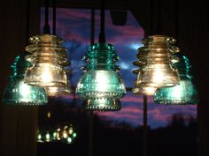 Hey, I found this really awesome Etsy listing at https://www.etsy.com/listing/497718076/insulator-chandelier