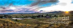 Panoramic View of Solider Ranch:   See more photos at  http://robert-bales.artistwebsites.com/