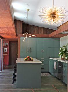 Midcentury Kitchen Design in San Francisco