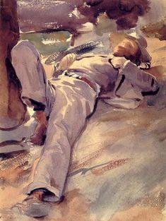 John Singer Sargent | Pater Harrison