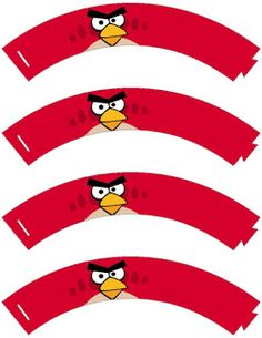 DICAS FREEBIE PRINTABLE CAIXAS ANGRY BIRDS