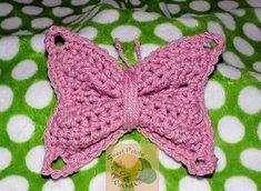 Ravelry: Bryn's Butterfly Applique pattern by Sweet Potato Crochet Creations