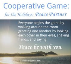 #peace be with you #cooperative #game -- [See more games at www.cooperativegames.com]