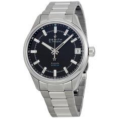 Zenith El Primero Espada Black Dial Stainless Steel Men's Watch 03.2170.4650/21.M2170 - El Primero - Zenith - Shop Watches by Brand - Jomashop