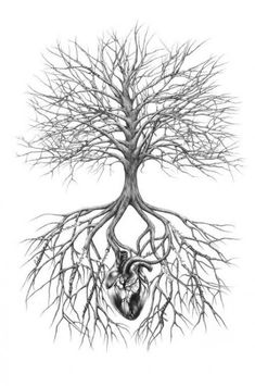 Family tree tattoo with flowers roots 19+ ideas #tattoo #flowers #tree