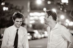 New/Old Picture of Rob with Remember Me Producer Nick Osbourne | Robsten Dreams