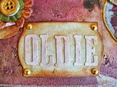 mixed media canvas scrapbooking vintage shabby chic
