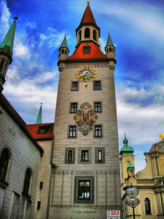 This is in Munich, whichI have also been, but was only there for a day and half. Love to see more of Germany Visit Germany, Munich Germany, Germany Travel, Germany Castles, Scotland Castles, Travel Around The World, Around The Worlds, Places To Travel, Places To Visit