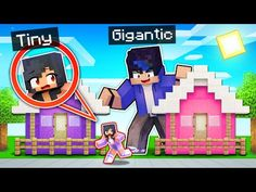 I'm TINY and He's GIGANTIC In Minecraft! - YouTube Diy Pokemon Cards, Minecraft Underground, Aarmau Fanart, Minecraft Mansion, Funny Iphone Wallpaper, Video Game Memes, Aphmau, Pokemon Fusion, Sailor Mars