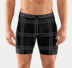 Under Armour updates its Original Boxer Jock boxer briefs with red and black plaid tartan for the holidays. The Under Armour boxer jock is now available. Mens Christmas Underwear, Best Boxer Shorts, Under Armour, Cotton Underwear, Men's Underwear, Underwear Brands, Men's Boxer Briefs, Under Pants, Summer Time