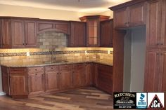 Kitchen cabinets in phoenix remodeling showroom j&k kitchen az cabinets and more http://kitchenazcabinets.com  All wood Kitchen Cabinets in Phoenix with Cinnamon Finish J&K Cabinetry, Granite Countertops from Aracruz International Granite and natural stone backsplash from World of Tile in Phoenix. http://kitchenazcabinets.com