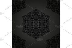 Damask Patterns, Arabesque, Vector Pattern, Abstract Backgrounds, Oriental, Traditional, Floral, Flowers, Flower