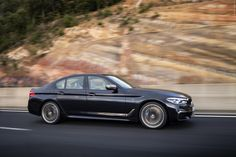 The latest generation of the BMW 5 Series enables close-knit connectivity between the. Luxury Car Brands, Luxury Cars, Mid Size Sedan, 2017 Bmw, Outside World, Bmw 5 Series, Detroit, Automobile, Bright Future